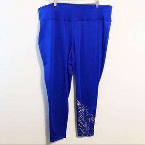 Livi Active royal blue silver legging 22/24